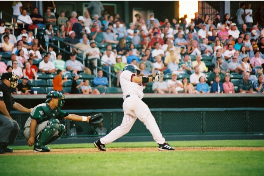 Batter with Crowd