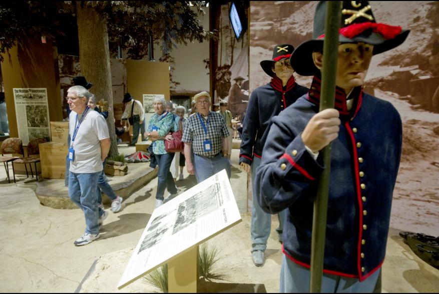 group at The Civil War Museum