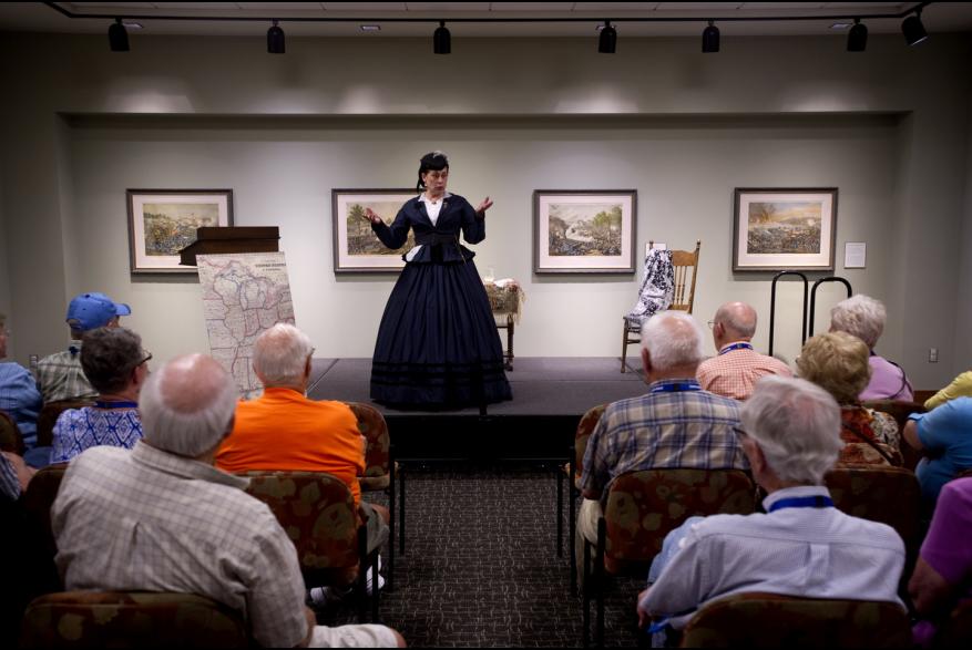 The Civil War Museum theater program