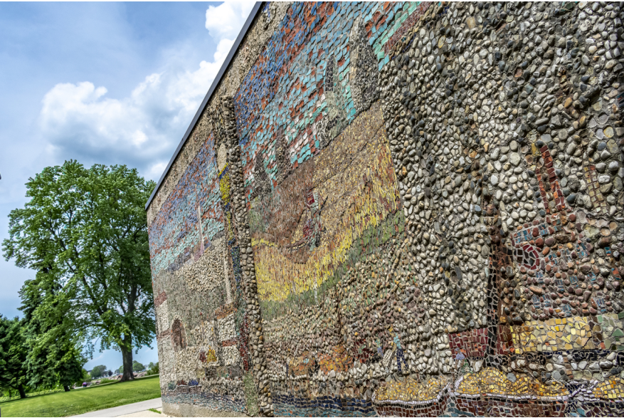 Kemper Center mosaic