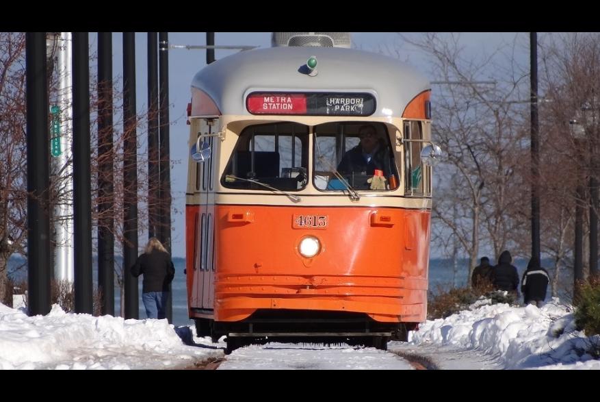 Kenosha Electric Streetcar - Johnstown car