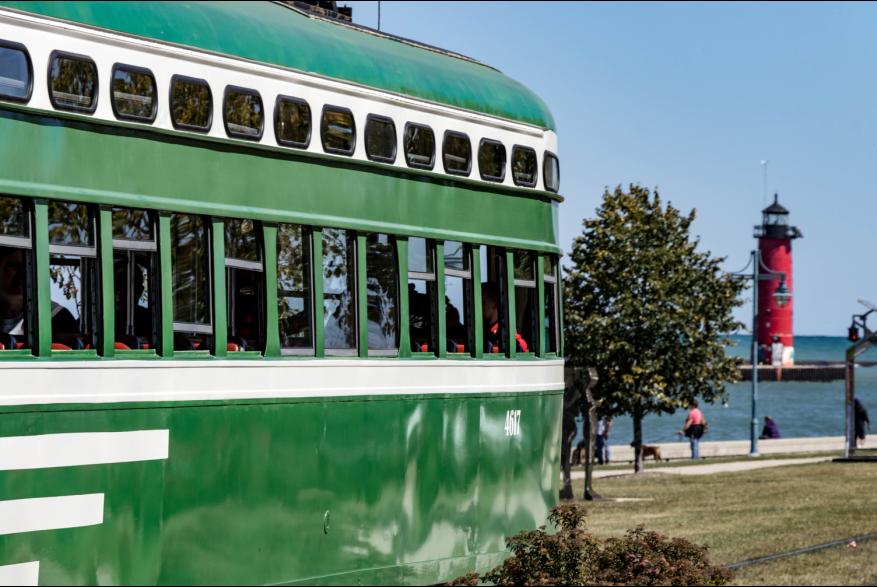 Kenosha Electric Streetcar - San Francisco car