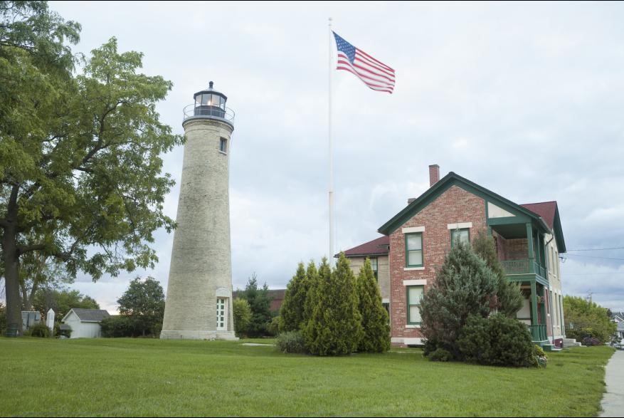 Southport Light Station Museum exterior