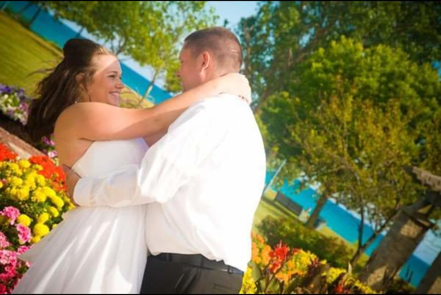 wedding pic at Wolfenbuttel Park