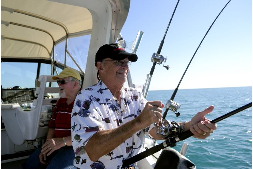 Charter Fishing with the Kenosha Charter Boat Association