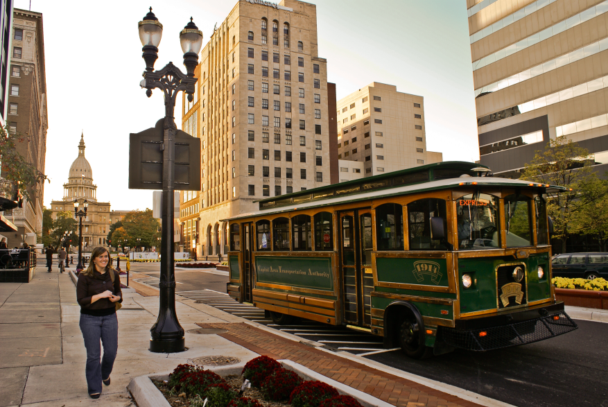 Greater Lansing Entertainment Express Trolley