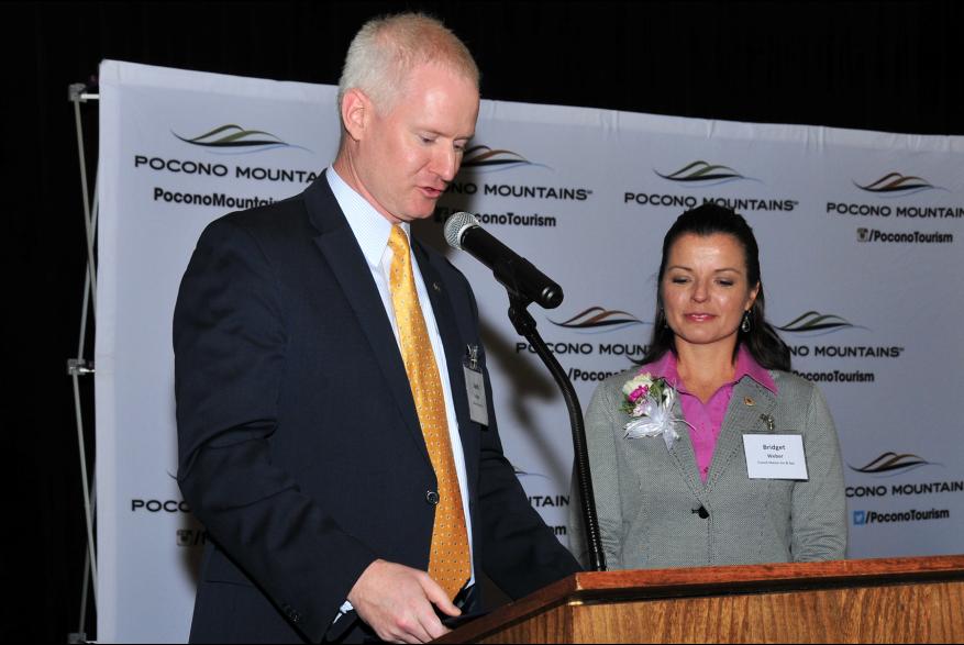 2015 Annual Report Luncheon Award Winner Bridget Weber PoconoMtns