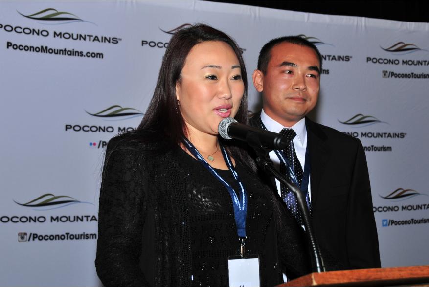 2015 Annual Report Luncheon Award Winner Chestnut Grove Angel Jerry Jie PoconoMtns