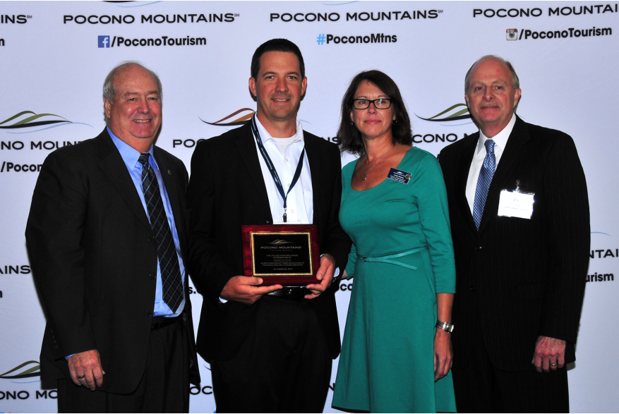 2015 Annual Report Luncheon Award Winner Simpleview PoconoMtns