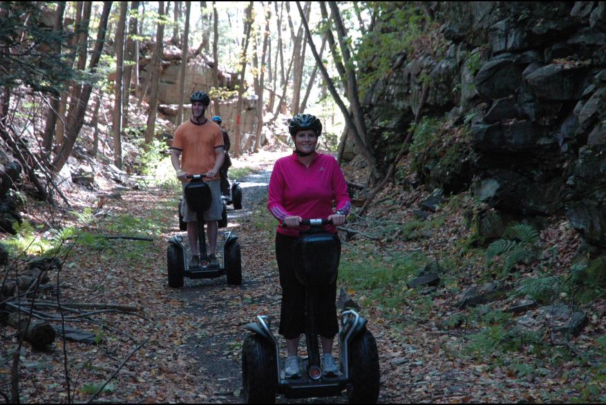 Segway tours in the Pocono Mountains