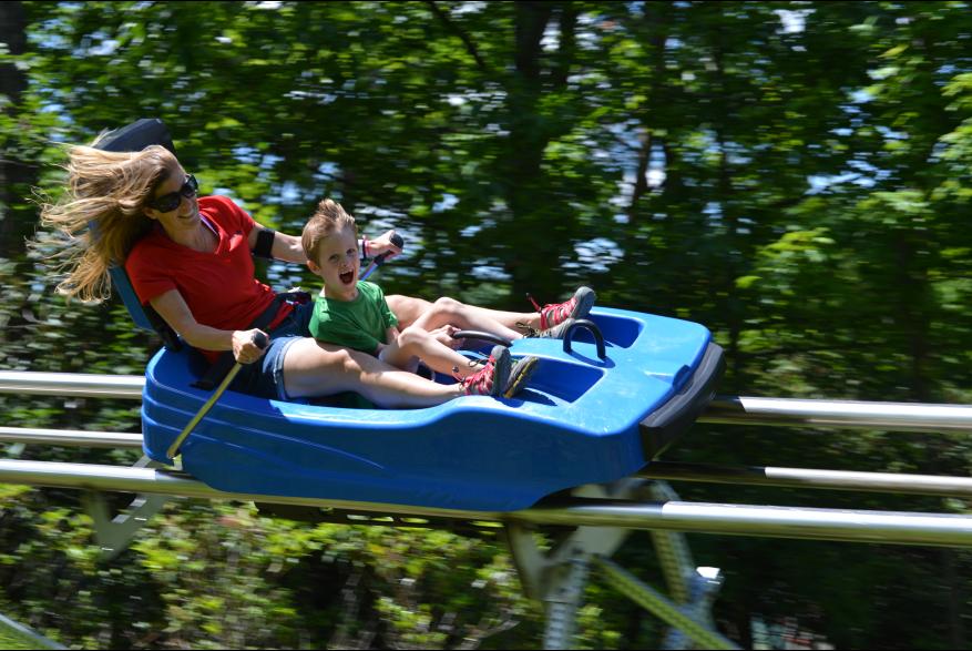 Ride the Mountain Coaster