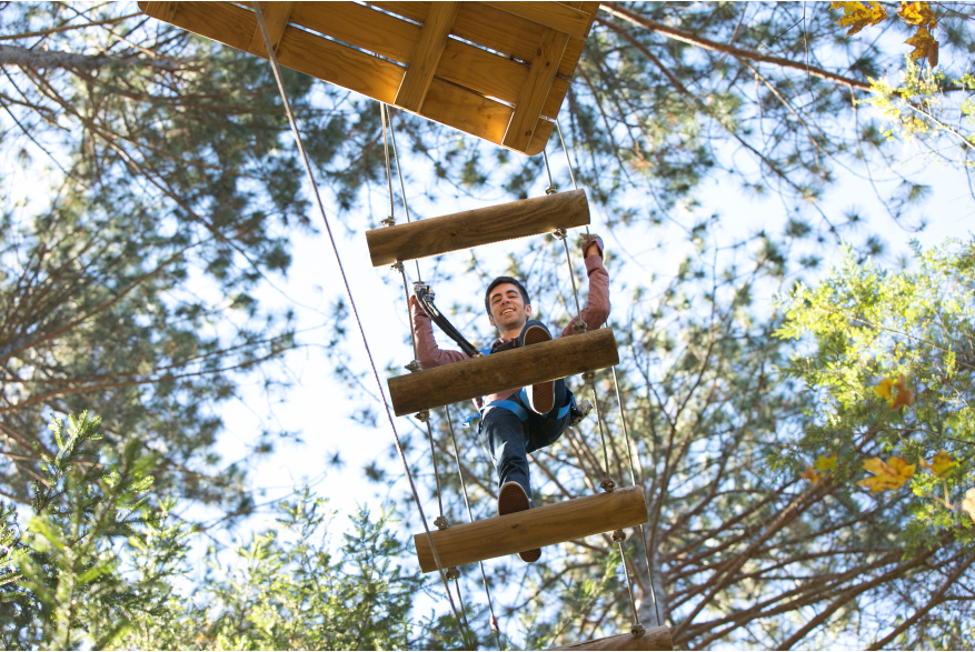 Adventure Parks in the Pocono Mountains