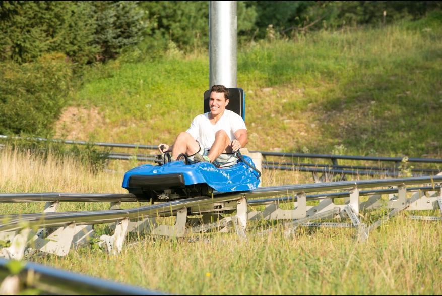 Mountain Coaster Fun at Camelback Mountain