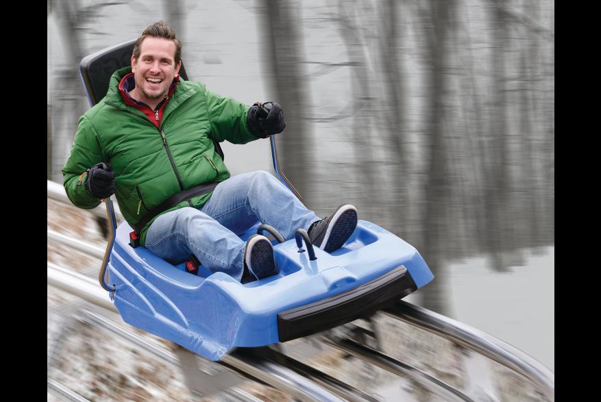 Winter Adventure Park Fun in the Pocono Mountains