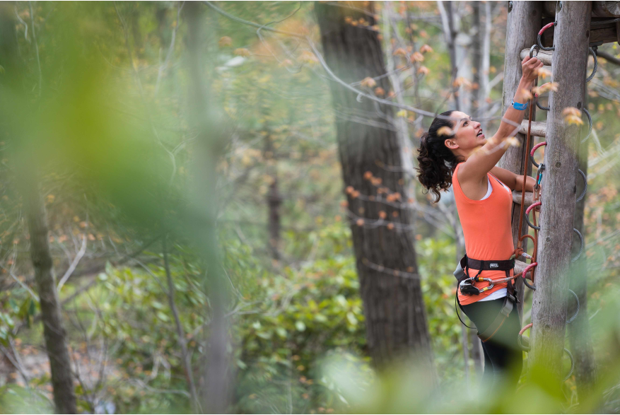 Test Your Skills on an Adventure Park in the Pocono Mountains