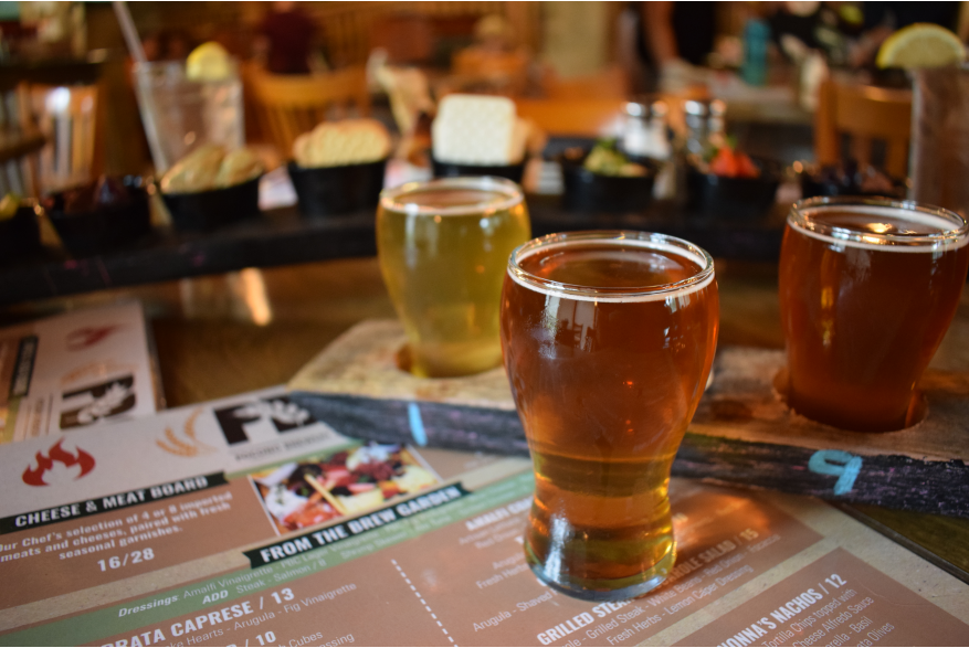 Try at beer tasting in the Poconos
