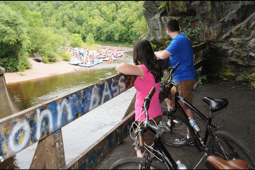 Outdoor Biking Adventures in the Pocono Mountains
