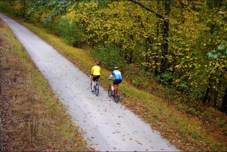 Fall Biking in the Pocono Mountains