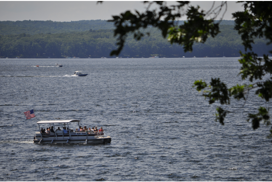 Wallenpaupack Scenic Boat Tours on Lake Wallenpaupack