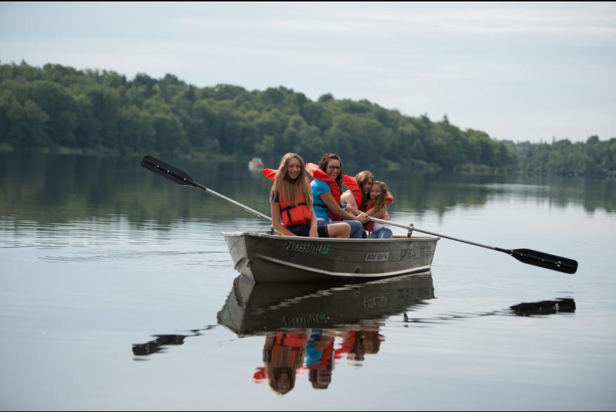 Boating Girls Promised Land State Park 9 Low Res PoconoMtns