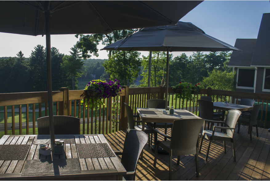 Enjoy Outside Dining in the Pocono Mountains