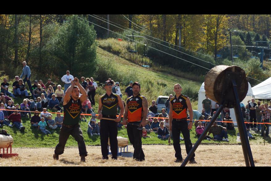 Pocono Mountains Autumn Timber Festival at Shawnee Mountain