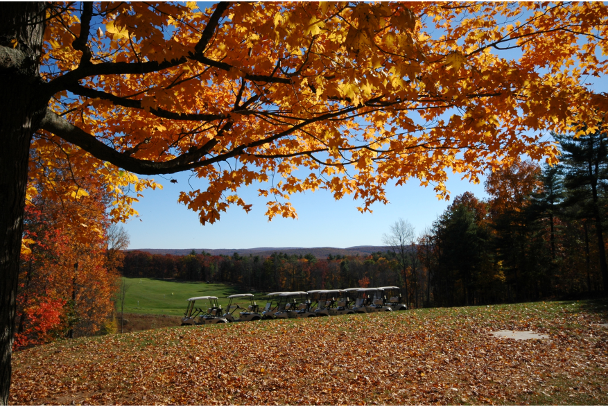 Fall Golf in the Pocono Mountains