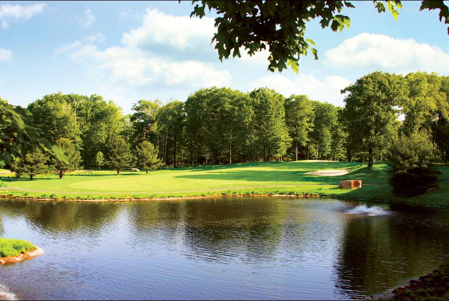 Views from a Pocono Golf Course