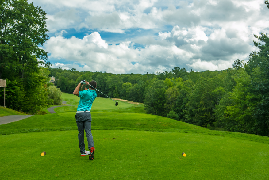 Golfing in the Pocono Mountains