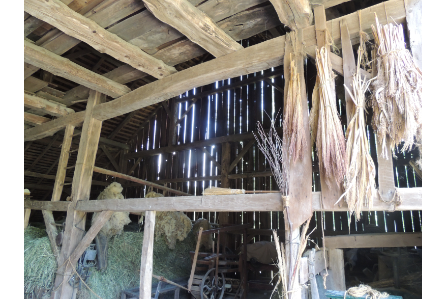 Inside the Bank Barn at Quiet Valley
