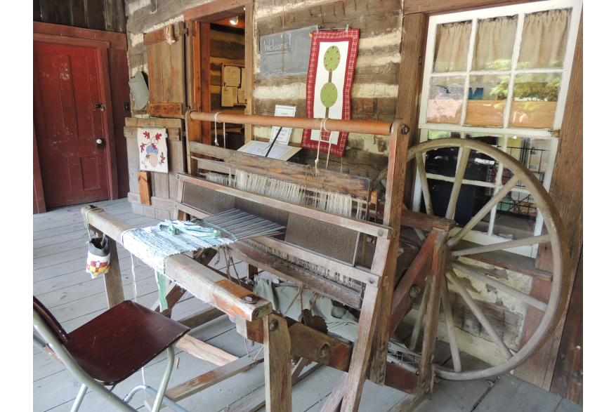 Loom at Quiet Valley Gift Shop