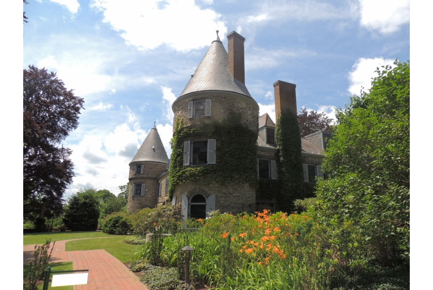 Historic Grey Towers in the Pocono Mountains