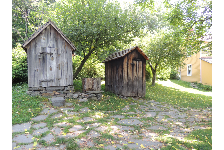 Outbuildings at Quiet Valley