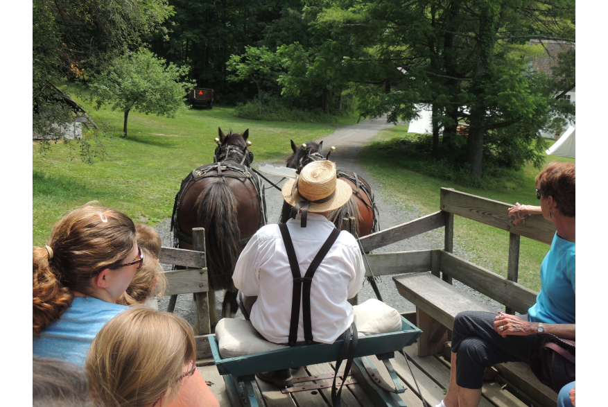Wagon Rides on the Farm at Quiet Valley