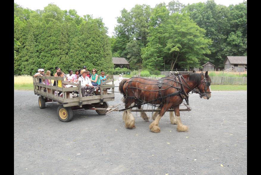 Historical Farm Tours in the Pocono Mountains