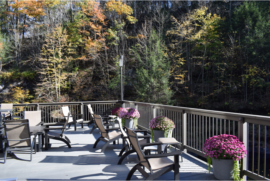 Fall at the Ledges Hotel