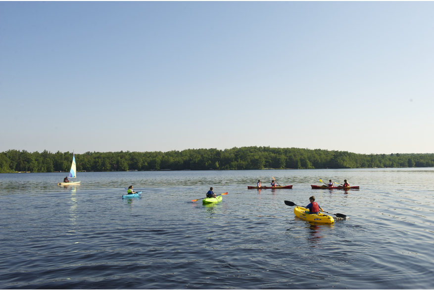 Water Activities in the Pocono Mountains