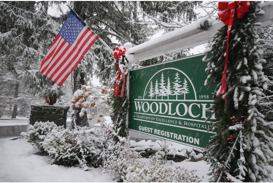 Woodlock Guest Registration Sign in the Pocono Mountains