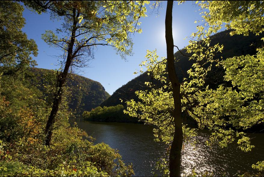 Scenic Falls Views in the Pocono Mountains