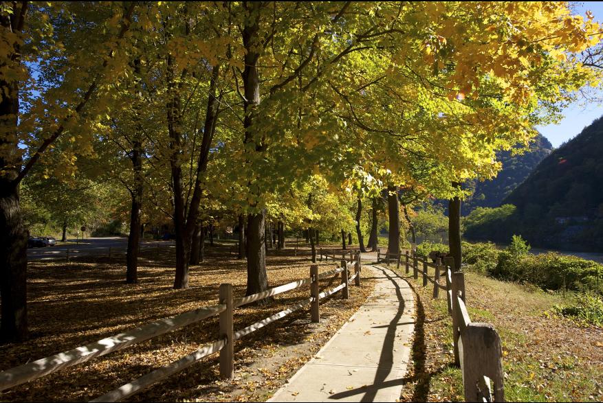 Take a fall stroll in the Pocono Mountains!