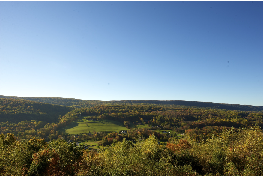 Fall Views in the Pocono Mountains