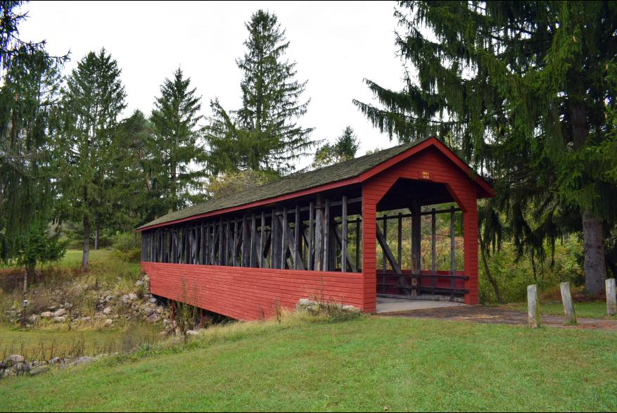 Harrity Covered Bridge at Beltzville State Park