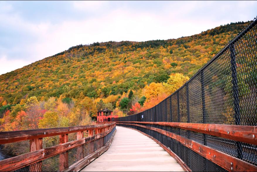 Take in the Pocono Mountains Fall Foliage