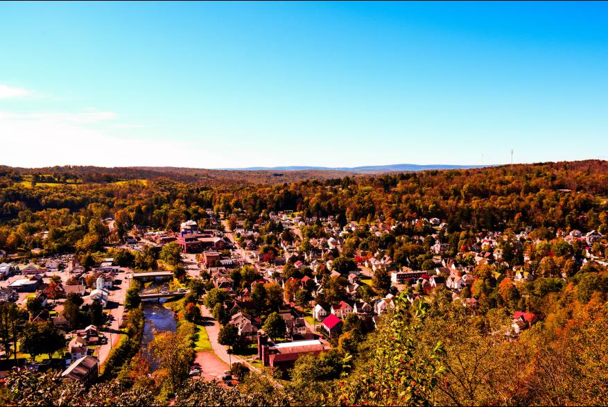 Fall Pocono Mountain Views