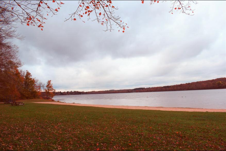 View the fall Pocono foliage