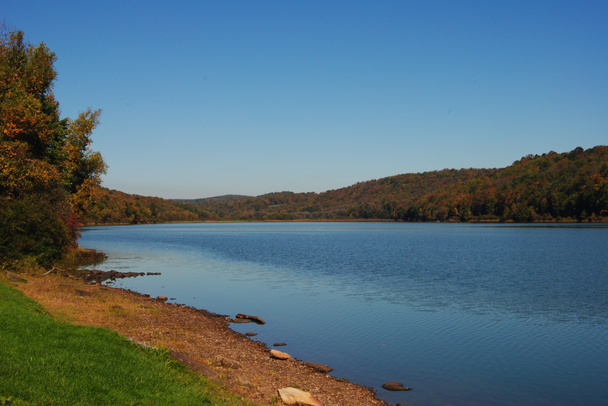 Scenic Views of the Pocono Mountians