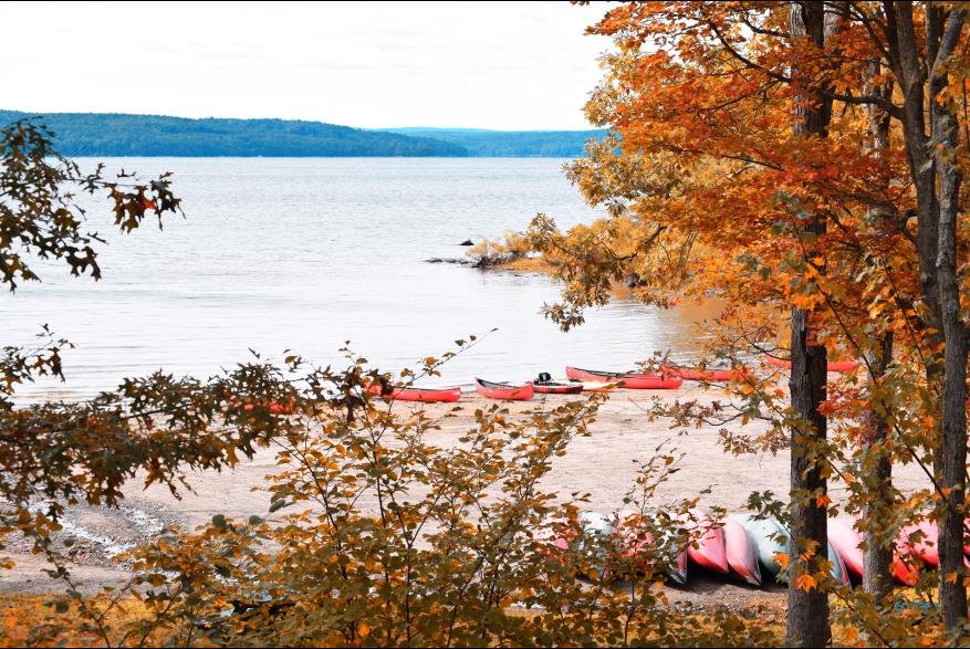Fall Around Scenic Lake Wallenpaupack