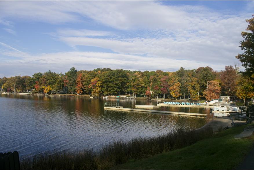 Fall Around Woodloch Resort in the Poconos