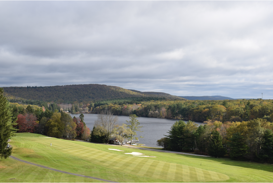 Fall Scenery in the Pocono Mountains