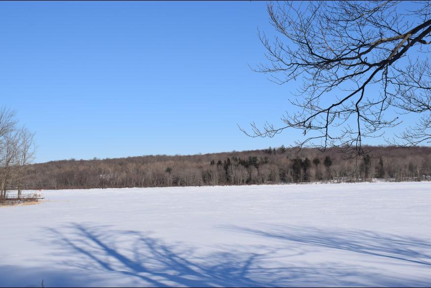 Winter water recreation in the Poconos
